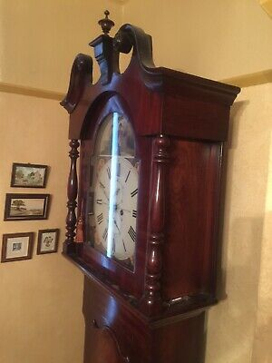 Longcase Clock Lockwood & Cooke Huddersfield Fully Working 5