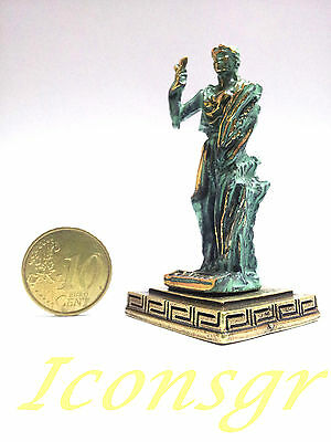 Ancient Greek Miniature Olympian God Pantheon Sculpture Statue Zamac Demeter GG