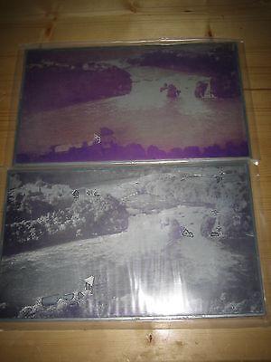 Metall Druckplatten 4, Farbig Landschaft Größe  ca. 27,3 x 16  cm 2