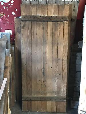 """Antique Barn Wood Door 69 3/8 x 29 1/8"""""""