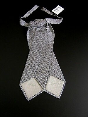 Luxury Brioni Nuovo New Plastron Cravatta Cerimonia Ceremony Seta Silk 3