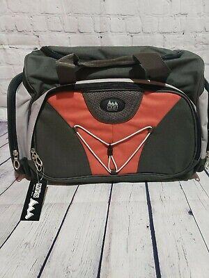 WFS Travel Bag Olive/Red Brick 8