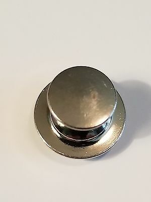 10 Low Profile Pin Keepers/Locking Pin backs-No Tools Required SHIPS FROM USA