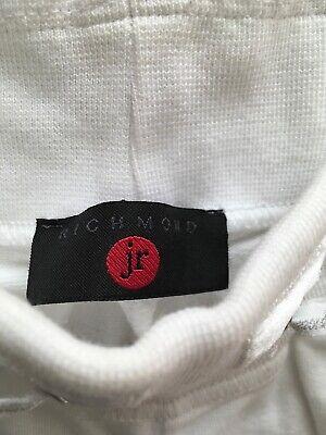 John Richmond pantaloni tuta bambina 11-12 Anni Bianco 2