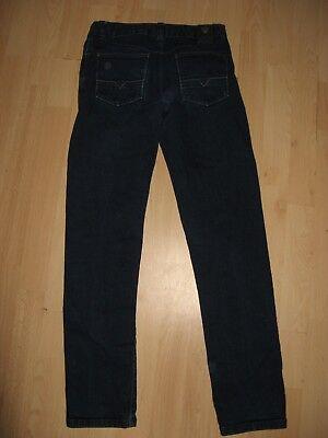 Worn Once Boys Hugo Boss Slim Fit Stretch Straight Leg Dk Blue Jeans Age 12-14 8