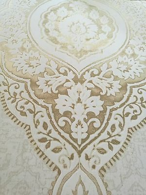 tapete designtapete ornamente gold stein eierschale orientalisch edel eur 69 90. Black Bedroom Furniture Sets. Home Design Ideas