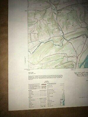 Dalmatia Pa. Northumberland USGS Topographical Geological Survey Quadrangle Map 4