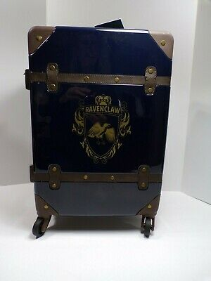 Pottery Barn Harry Potter Hard Sided Ravenclaw Carry-on Spinner Suitcase #4625 3