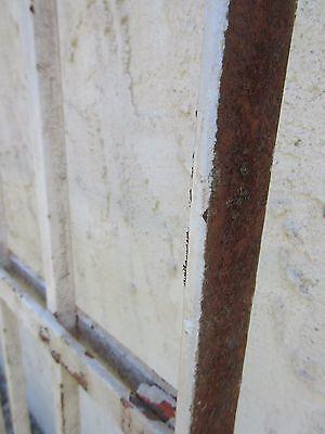 Antique Victorian Iron Gate Window Garden Fence Architectural Salvage Door #376 6