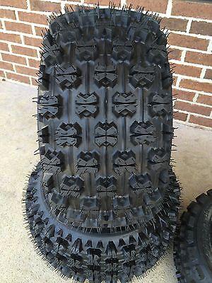 FOUR HONDA TRX250X 22x7-10 All 4 Tires 4 PLY 20x11-9 SLASHER ATV TIRE SET