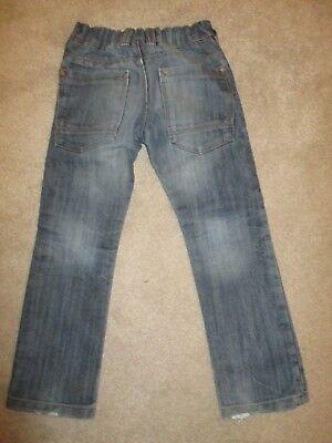 Boys Next Distressed Blue Denim Jeans Age 5 3