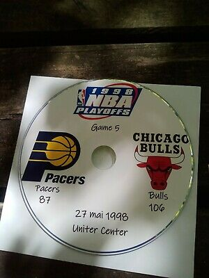 NBA Playoffs 1998 DVD Michael Jordan Bulls vs Pacers 5