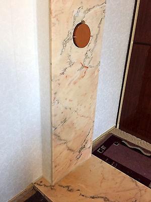 3 Von 4 Kaminplatte Wandverkleidung Schornsteinverkleidung Kaminofen  Naturstein Marmor