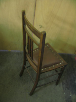 Antique Edwardian Childrens Dining Chair Collection Only 3