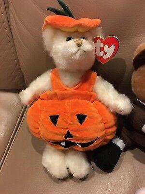 Halloween Thanksgiving RUSS TY CARVER GOBBLE Scarecrow Jackolantern Snoopy PLUSH