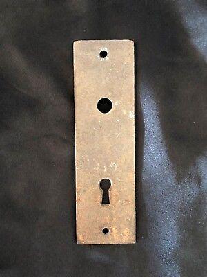 Victorian Brass Door Plate