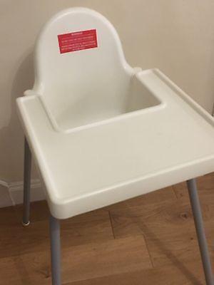 Highchair Warning Sticker - Health & Safety Warning 2