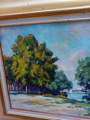 Albert GENTA (1901-1989) Huile sur toile 4