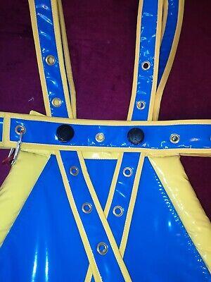 Spreizhose Segufix Adult Baby Windelhose Spread Pants LACK PVC HANDARBEIT 40x100 4