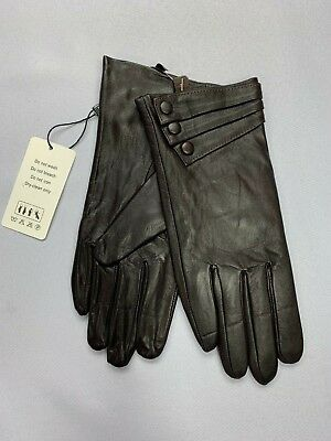 Women's Ambesi Gloves Size L Large Dark Brown NEW OPENED PACKAGE BJ 2