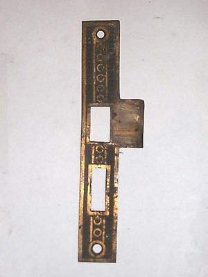 Antique Eastlake Door Strike Keeper #60 2