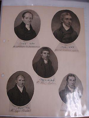 Methodist Portraits Collection - Circa 1800's 3