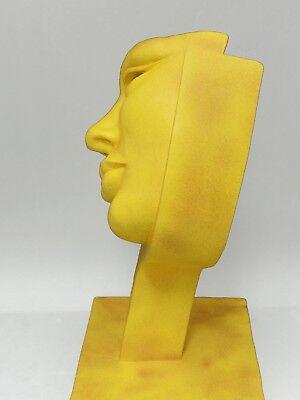Escultura de piedra sintética acabado granito. Venta directa del artista. 3