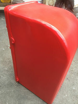 ER Royal Mail Post Box  ERII pillar box Red cast iron post box post office box 7