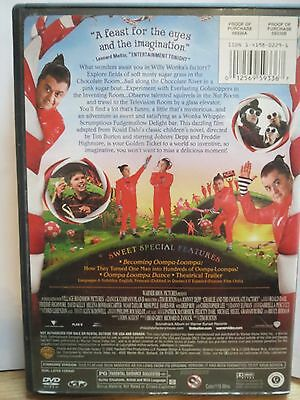 Charlie and the Chocolate Factory (DVD, 2005, Full Screen Edition) 2