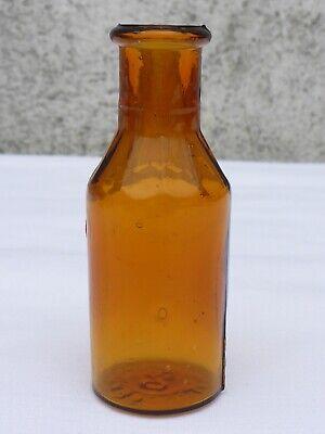 5 x alte braune Medizin Glas Apotheke Apotheker Flasche 20 ml ca. 7,5 cm braun 10