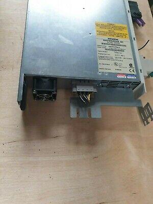 Siemens 6Se7012-0Tp50-Z Masterdrives Mc Dc/Ac Drive  (Rdb8.2) 3