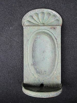 Antique Early American Copper Candle Sconce Last Long Island Ny Origin Decorate 11