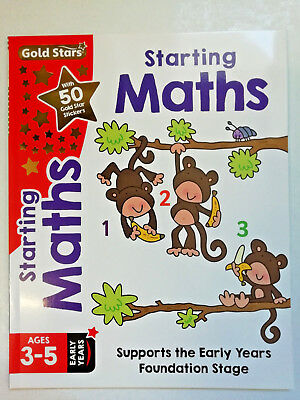 Home Early Learning Pre School set of 6 Workbooks Maths English Phonics Age 3- 5 7