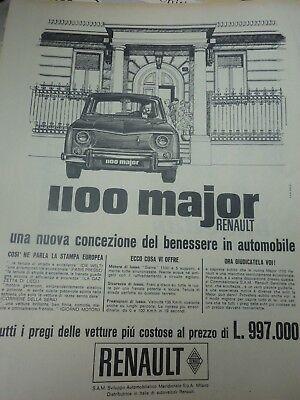 *advertising Pubblicita' Renault Caravelle 1100 - R8 -  1964 Altre Disponibili