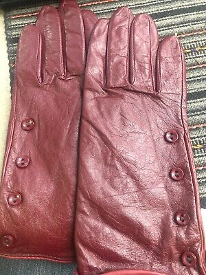 Women's Blue Gloves Wilson Leather Size L New With Tag 3