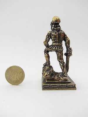 Ancient Greek Miniatures Olympian Gods Pantheon Sculpture Statue Zamac Set 5 pcs 9