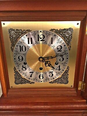 Vtg Mason & Sullivan Bracket Clock Westminster Chimes Runs Strikes Chimes 4