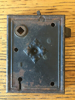 Antique Russel & Erwin MFG Co. box lock/rim lock