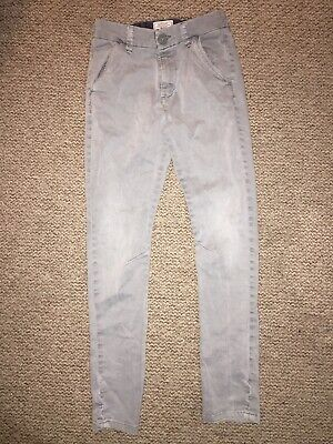 Next Boys Grey Jeans Age 11 Years 98% Cotton 4