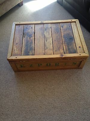 Vintage Pine Chest/crate 2