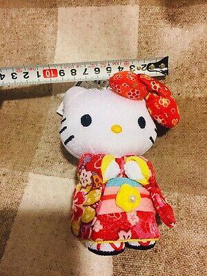 Hello Kitty Sanrio Kimono Plush Doll rare Red cute kawaii Japan Limited new f//s