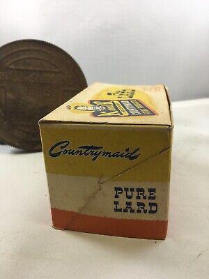Vintage K and R Countrymaid Lard Box Hastings NB