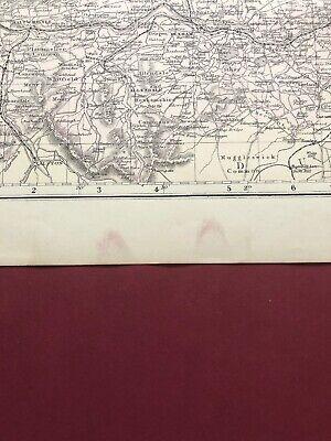 Vintage NORTHUMBERLAND Map 6