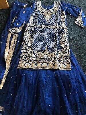 Designer Salwar Shalwar Kameez Indian Asian Bridal Lengha Suit Pakistani 4