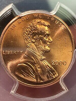 "2000 1C PCGS MS66RD ""Cheerios"" Cent - RicksCafeAmerican.com 6"