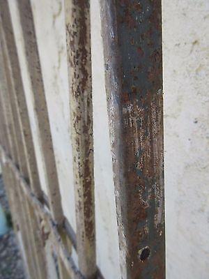 Antique Victorian Iron Gate Window Garden Fence Architectural Salvage Door #373 6