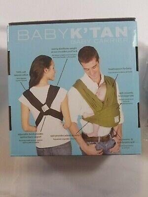 Baby K'tan ORIGINAL,BREEZE,ACTIVE Baby Carrier Black,Teal,Charcoal XXS,S,M,L,XL 5