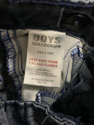 Boys cute combat jeans size 3 Years Adjustable waist excellent condition 8