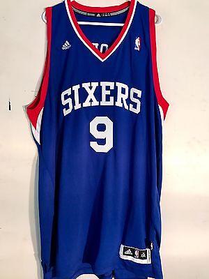 d312d0f98 1 of 2 Adidas Swingman NBA Jersey Philadelphia 76ers Andre Iguodala Blue sz  2X