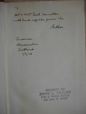 John A. Anderson Autobiography signed by John Anderson - 1948 2